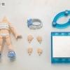Cu-poche Extra - Frill Swimsuit Body (White)(Pre-order)