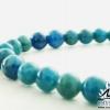 ▽สร้อยหิน อะพาไทต์ (Blue Apatite)