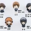 Girls und Panzer - Ankou Team 5Figure Set (Panzer Jacket Version) Pre-painted Complete Figure(Pre-order)
