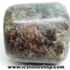 ทับทิมในไคยาไนต์ Ruby in Kyanite ขัดมัน ขนาดพกพา (23g)
