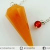 เพนดูลัม 12 เหลี่ยม พีช อะเวนจูรีน Peach Aventurine (10.5g)