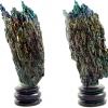 ▽แร่ 7 สี Silicon Carbide ตั้งโต๊ะ (170g)