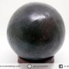 หินมงคล เนื้อแร่เหล็กไหลเขาอึมครึมทรงกลม (227g)