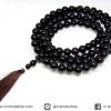 ประคำ 108 เม็ด ออบซิเดียนสีรุ้ง (Rainbow Obsidian) 12 mm.