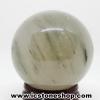 ▽กรีนอราโกไนต์ (Green Aragonite) ทรงบอล หินทรงกลม 4 cm