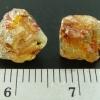 ▽Yellow Apatite อพาไทต์สีเหลือง มี iron oxide แทรก 2 ชิ้น (1.6g)