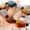 สร้อยข้อมือ อาเกตทะเลทรายโกบี (Gobi Agate) 97g