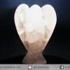 หินโรสควอตซ์ แกะเป็นรูปนางฟ้า (20g)