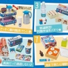 Doraemon - Densha ni Notte Doko Made mo 8Pack BOX (CANDY TOY)