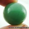 ▽กรีนอะเวนจูรีน (Green Aventurine) ทรงบอล หินทรงกลม 1.9 cm