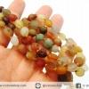 สร้อยคออาเกตทะเลทรายโกบี (Gobi Agate) (60g-81Beads)