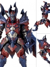 Vulcanlog 019 MonHunRevo Hunter Male Swordsman Glavenus Series(Pre-order)