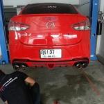Mazda2 ชุดท่อคู่