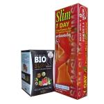 BIO Slim ลดความอ้วน ลดน้ำหนัก ลดพุง หน้าท้อง สะโพก ต้นเขน ต้น ขา ลดไขมัน สลายไขมัน กระชับสัดส่วน ผิวขาวใส มีออร่า + Pechpornsawan Firm Slim Hot Gel เจล สลายไขมัน ลดพุง ลดสัดส่วน กระชับผิว 100 ml