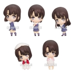 Saekano: How to Raise a Boring Girlfriend Flat - Megumi Kato ga Ippai Collection Figure 6Pack BOX(Pre-order)