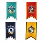 ธงฮอกวอตส์ประจำบ้าน แบบพื้นสี ไซส์70x125cm.