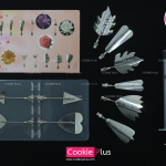 เซต D อุปกรณ์ทำดอกไม้เจลาติน 3D Gelatin Art
