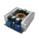 โมดูลแปลงแรงดันลง Step down DC-DC 5-40V to 1.2-36V 12A High Power adjustable 95% Low Ripple