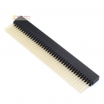 Female Pin Header Dip Straight Single Row 2.54mm 2*40Pin 12.2mm