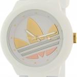 นาฬิกา Adidas Women's Aberdeen ADH9083 สายซิลิโคนสีขาวหน้าปัดสีสามกษัตริย์