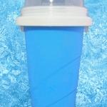 แก้วทำสเลอปี้ สีฟ้า
