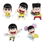 Osomatsu-san - Jyushimatsu ga Ippai Collection Figure 6Pack BOX(Pre-order)