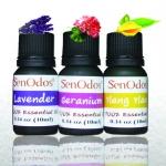 SenOdos น้ำมันหอมระเหย น้ำมันหอมอโรม่า กลิ่นดอกไม้ Essential Oil Floral Set 10ml x 3กลิ่น