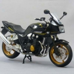 1/12 Complete Motorcycle Model CB1300 SUPER BOLD'OR (BLACK)(Pre-order)