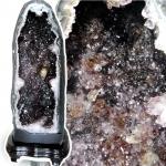 ▽โพรงอเมทิสต์ ซุปเปอร์เซเว่น (Geode Amethyst Super seven 7) 18.6 KG
