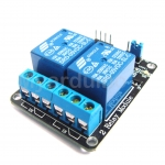2 Channel 5V relay isolation control Relay Module Shield 250V/10A