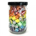 Large Jar of Colorful Smiley (160g. Jar)