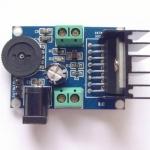 TDA7266 Amplifier Module บอร์ดขยายเสียง Stero 7W+7W