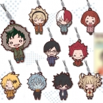 "Nitotan - ""My Hero Academia"" Casual Wear Rubber Mascot 10Pack BOX(Pre-order)"