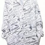 เสื้อสเวตเตอร์ ลายคาถา สีขาว : งานหลุดQC USJ