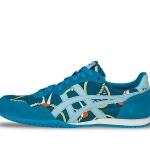 รองเท้าผ้าใบผู้หญิง Onitsuka Tiger Serrano D6M8N 4747 Limited Edition Karamari/Chigusairo สีน้ำเงินลายเชือก