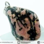 จี้โรโดไนท์ (Rhodonite) ขัดมัน (6.3g)
