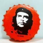 ฝาเหล็กยัก CHE Guevara ขนาด 40 cm