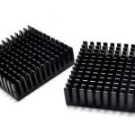 แผ่นระบายความร้อนพร้อมแผ่นกาว Mini Heatsink ขนาด 40*40*11mm