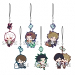 World Trigger - Chara Yura Rubber Strap 6Pack BOX(Pre-order)