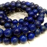 สร้อยปะคำ 108ลาพิส ลาซูลี่ (Lapis Lazuli) 12 mm.