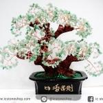 ต้นไม้มงคล อเวนจูรีน Green Aventurine (สูง 32 cm)