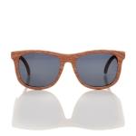 Mustachifier Wood Finish Sunglasses Age 3-6 แว่นกันแดดลายไม้