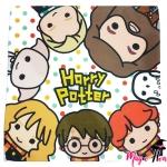 ผ้าเช็คหน้าแฮร์รี่ พอตเตอร์ ลายการ์ตูน แบบเดียวกับญี่ปุ่น2
