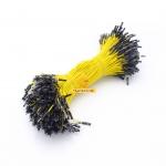 สายไฟจัมเปอร์ 20cm ผู้-เมีย สีเหลือง จำนวน 10 เส้น