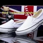 รองเท้า converse Slip on สีขาว