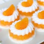 สูตรวุ้นส้ม นมสด โดยแม่พิมพ์วุ้นแฟนซี by Cookie plus
