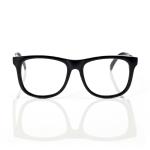 Mustachifier Black UV Glasses Age 3-6 แว่นเนิร์ดเด็กสีดำ