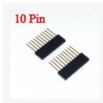 female header 2.54MM 10Pin 11MM