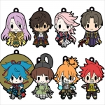 D4 Touken Ranbu Online - Rubber Strap Collection Vol.5 8Pack BOX(Pre-order)