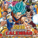 Dragon Ball Super 2018 Calendar(Released)